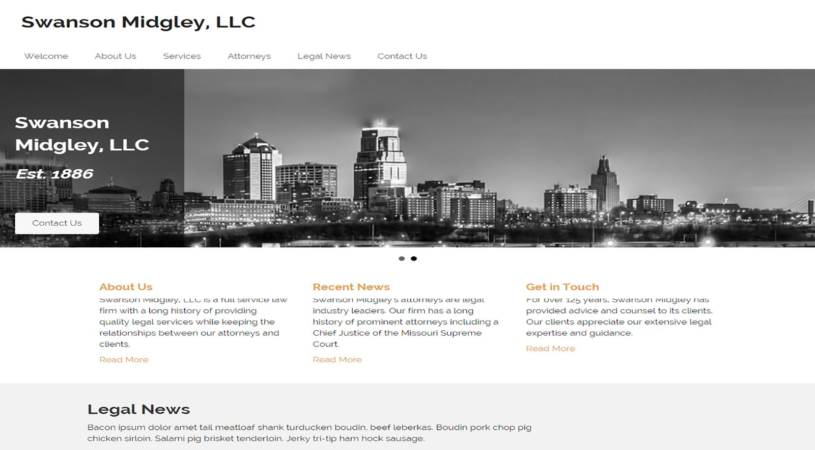 Bullhead City Custom WordPress
